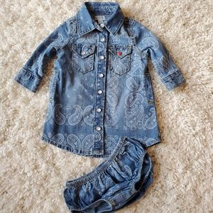 Baby girl Denim dress